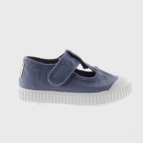 victoria sandal canvas blue