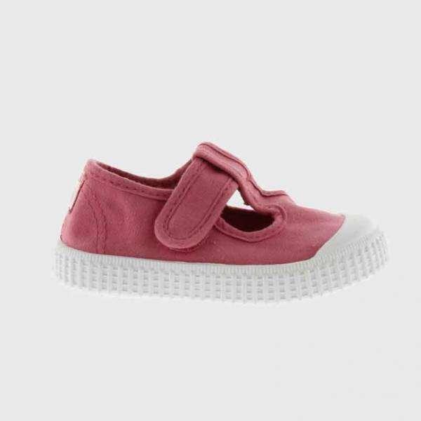 victoria sandals canvas raspberry