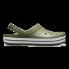 crocband clog army green